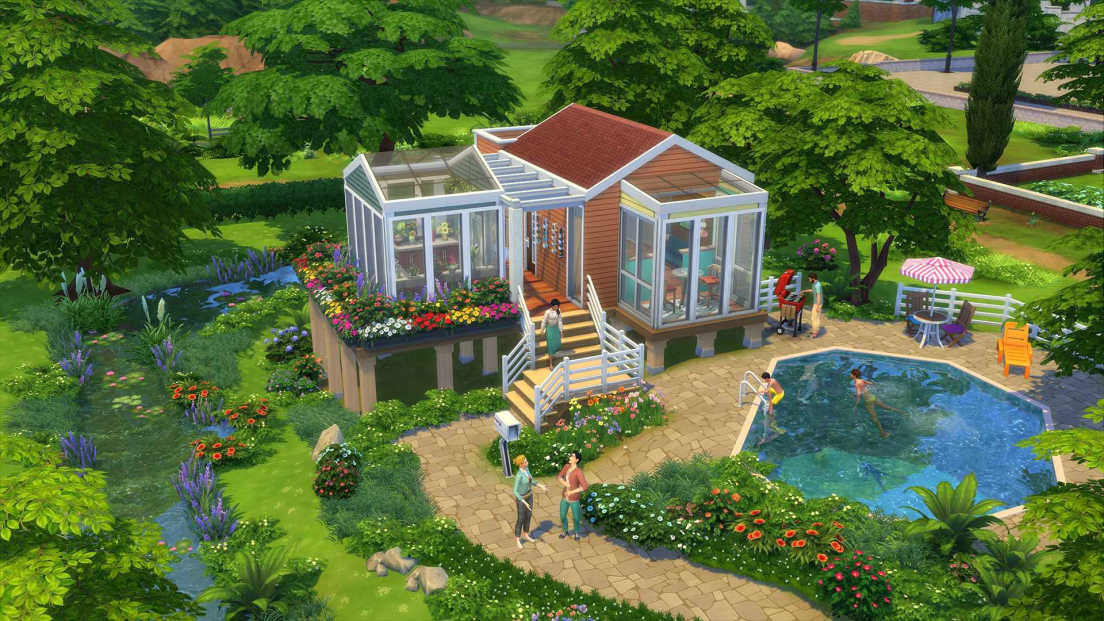 The Sims 4: Cottage Living screenshot 2
