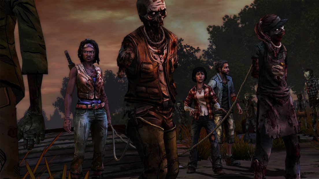The Walking Dead: Michonne screenshot 2