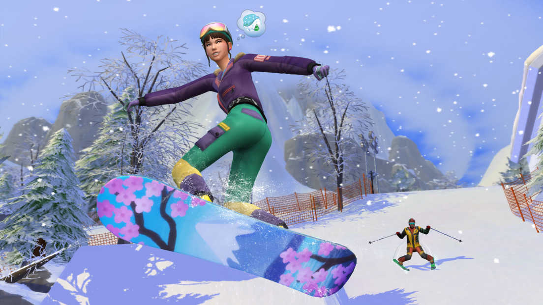 The Sims 4: Snowy Escape screenshot 1