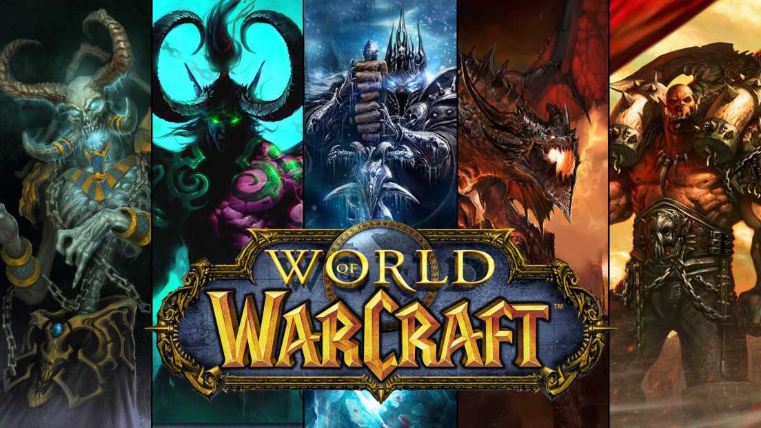 World of Warcraft card