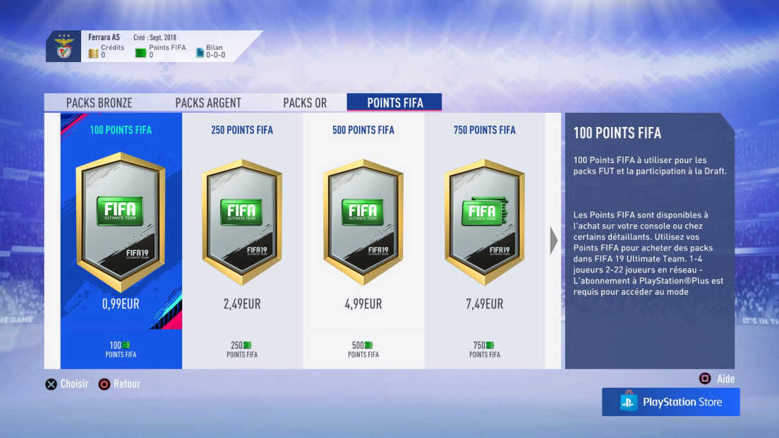 Fifa points screenshot 1