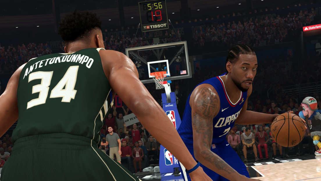 NBA 2K21 screenshot 1