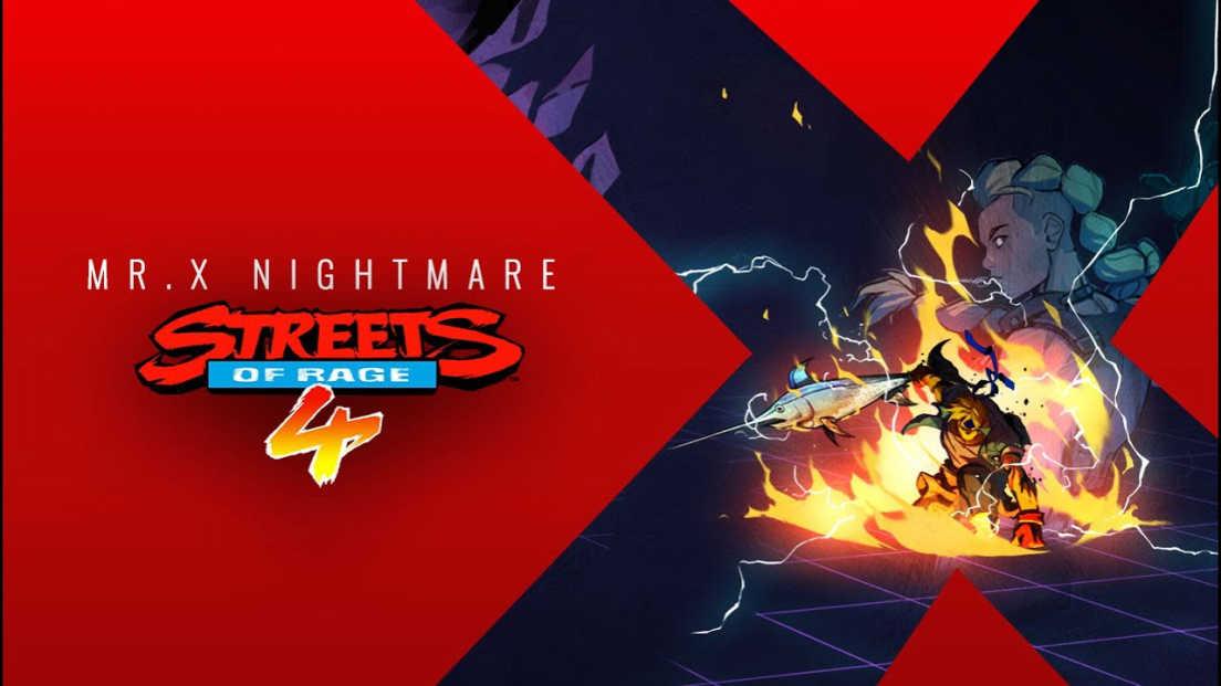 Streets of Rage 4: Mr X. Nightmare