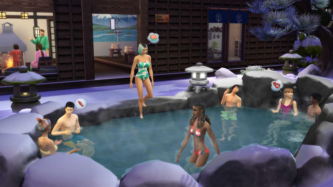 The Sims 4: Snowy Escape screenshot 2