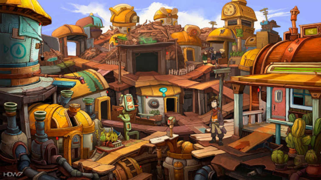 Chaos on Deponia screenshot 3