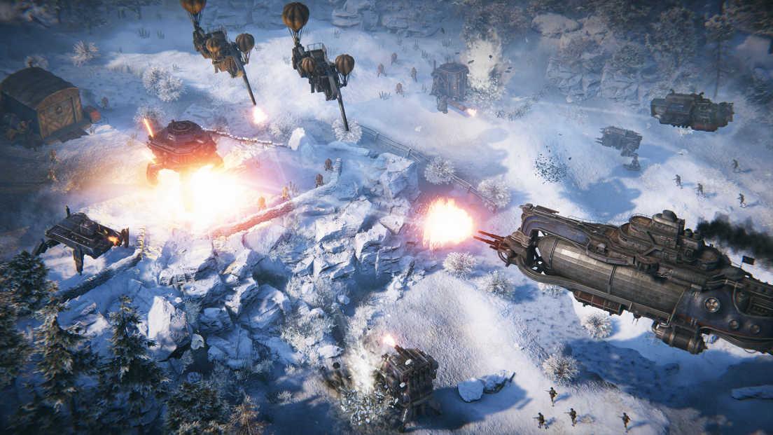 Iron Harvest Operation Eagle DLC screenshot 1