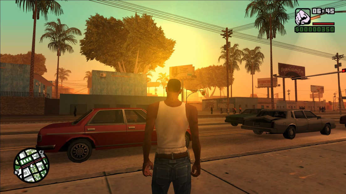 Grand Theft Auto: San Andreas screenshot 1