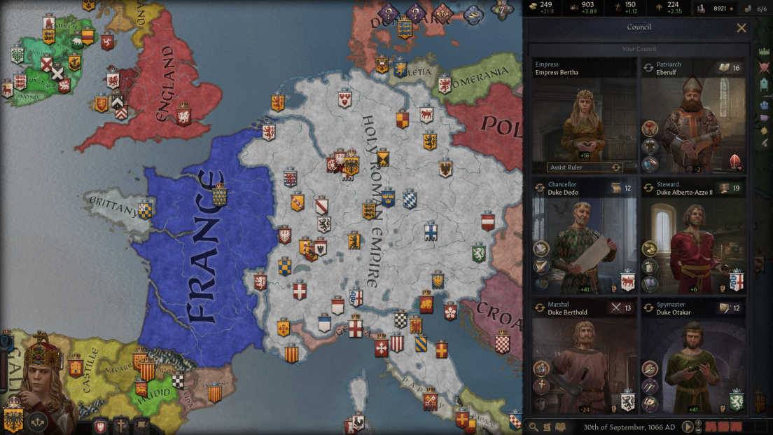 Crusader Kings III screenshot 1