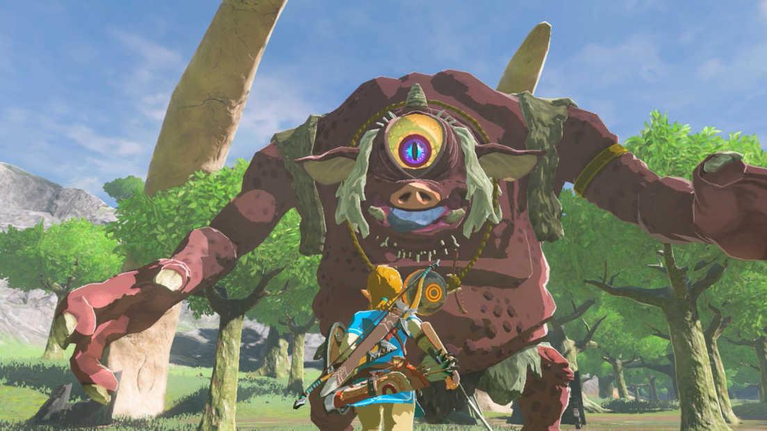 The Legend of Zelda: Breath of the Wild screenshot 1