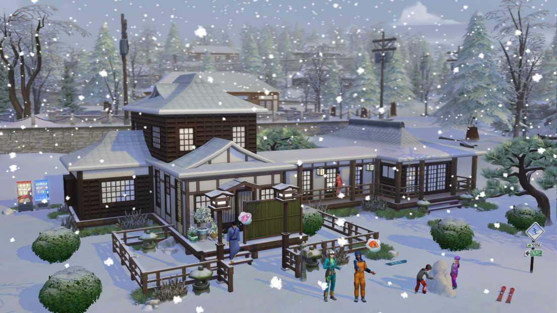 The Sims 4: Snowy Escape screenshot 3