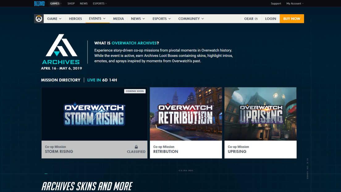 Blizzard card screenshot 2