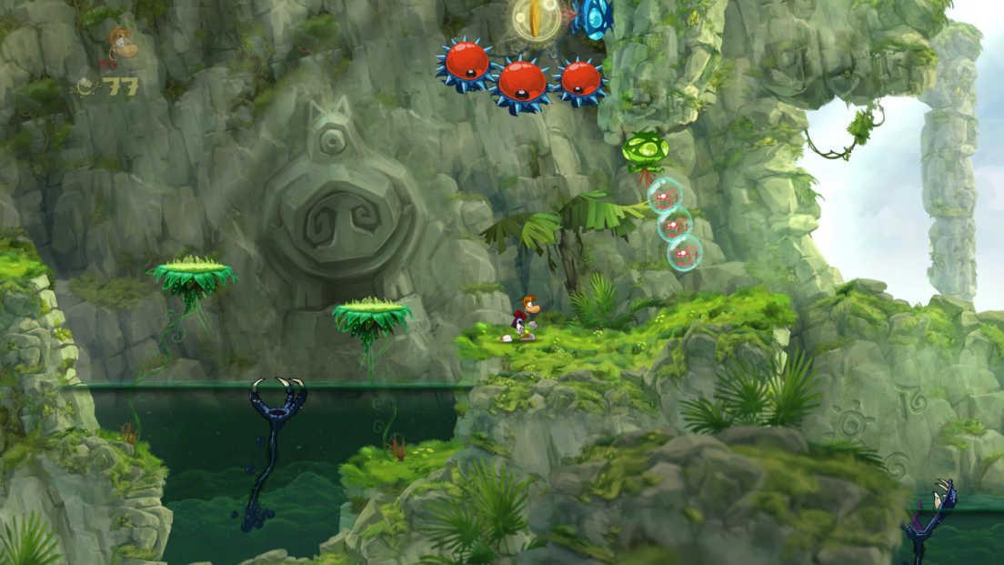 Rayman Origins screenshot 1