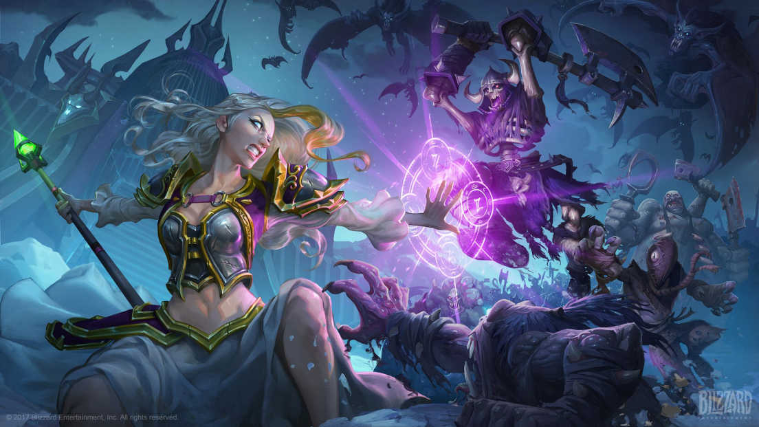 World of Warcraft card screenshot 1
