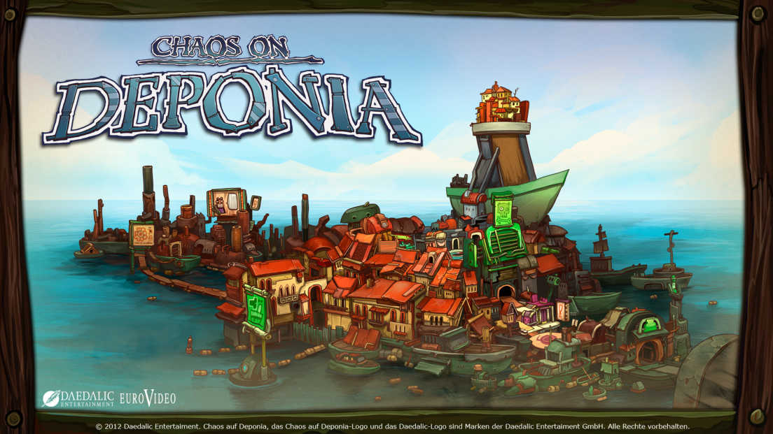 Chaos on Deponia screenshot 1