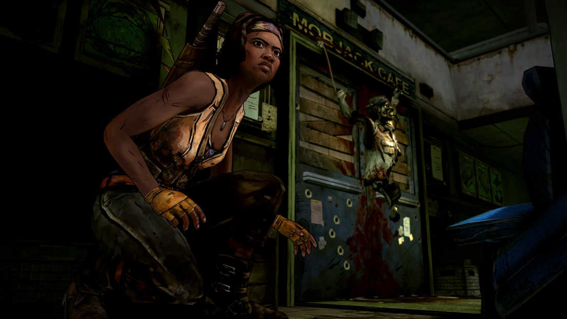 The Walking Dead: Michonne screenshot 1
