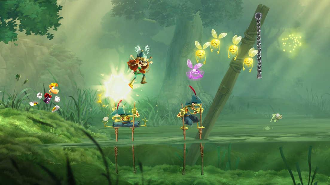 Rayman Legends screenshot 1
