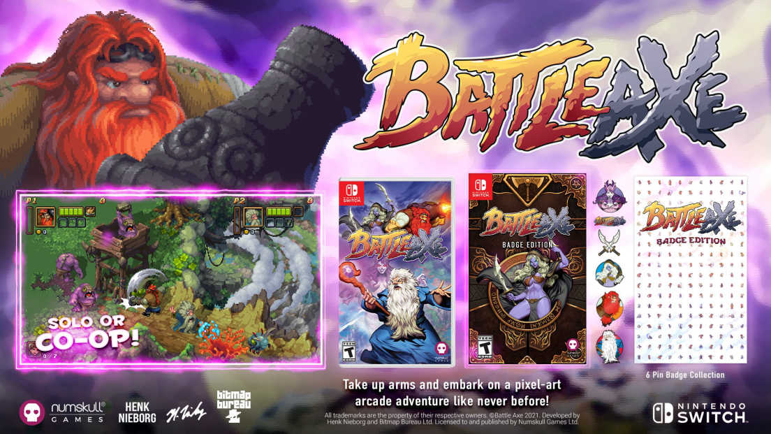 Battle Axe: Badge Edition