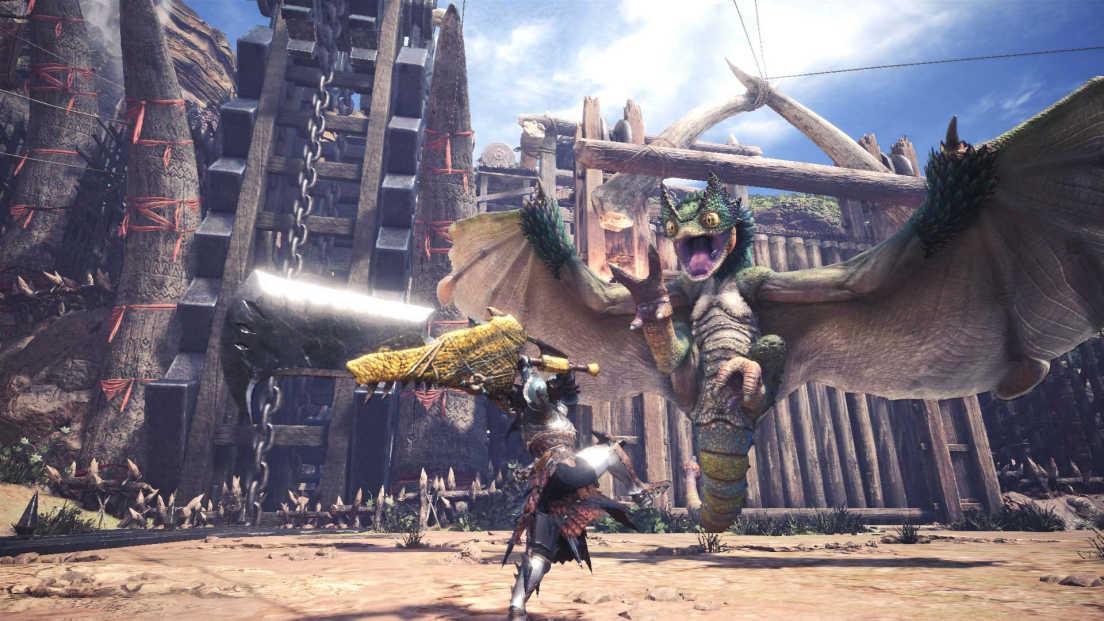 Monster Hunter: World screenshot 2