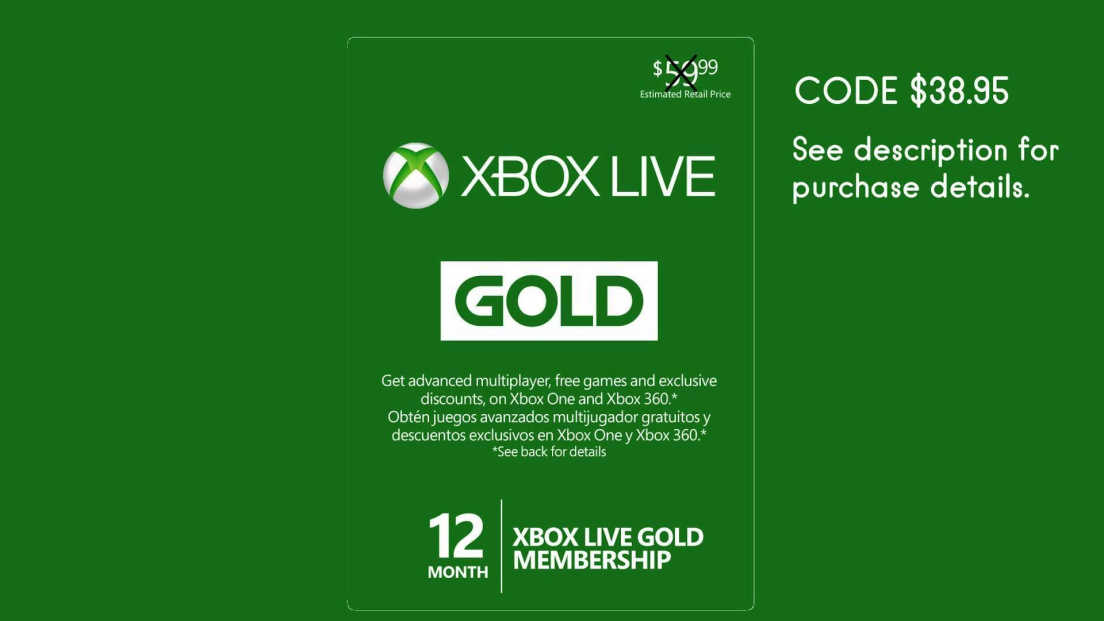 Xbox card screenshot 2