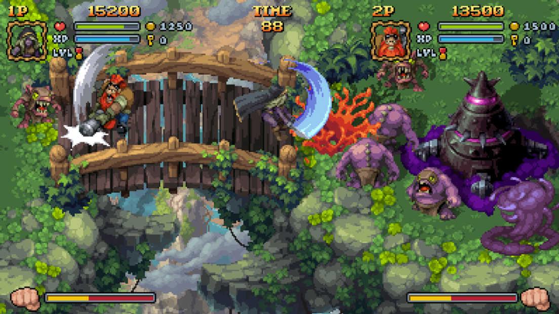 Battle Axe: Badge Edition screenshot 1